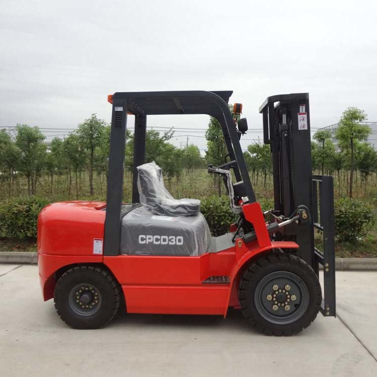New 10t Electric Forklift Specification of Shantui for Sale
