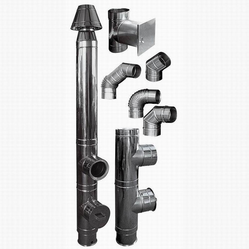 China stainless steel chimney pipe fule