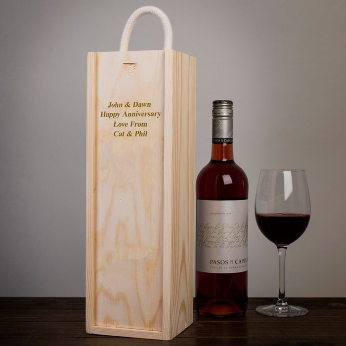 Hotsale Highend Customized Wooden Red Wine Box with Cheaper Price