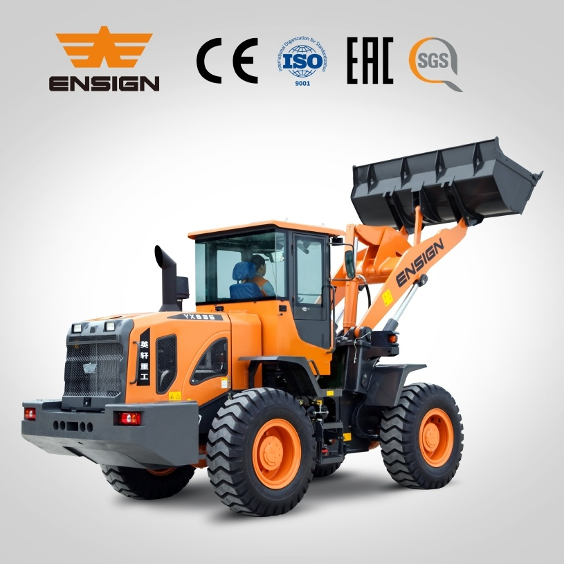 Ce Approved 3 Ton Wheel Loader with 1.8m3 Bucket