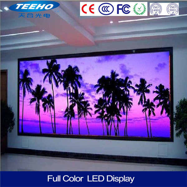 High Definition P5 Indoor LED Display for Hall 16 × 16, 40000pixels / Sq. M