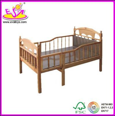 2015 New Popular Baby Cot, New Wooden Baby Cot, Baby Cot, Luxury Playpen Baby Cot Bed (WJ278323)