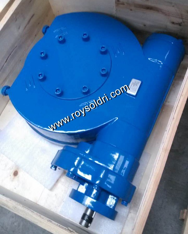 Double Stage Electric Operated Worm Gearbox for Valve