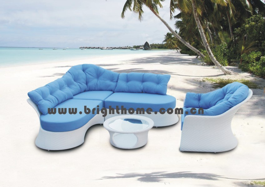 High Quality Modern Outdoor Wick Rattan Patio Furniture (BP-832)
