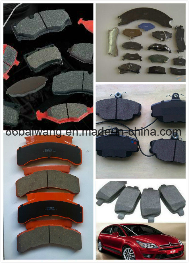 Semi-Metal High Performance Low Noise Car Brake Pads