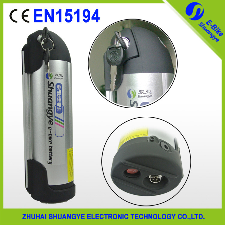 China Best 36V 11ah Lithium Ion Dry Battery for Ebike