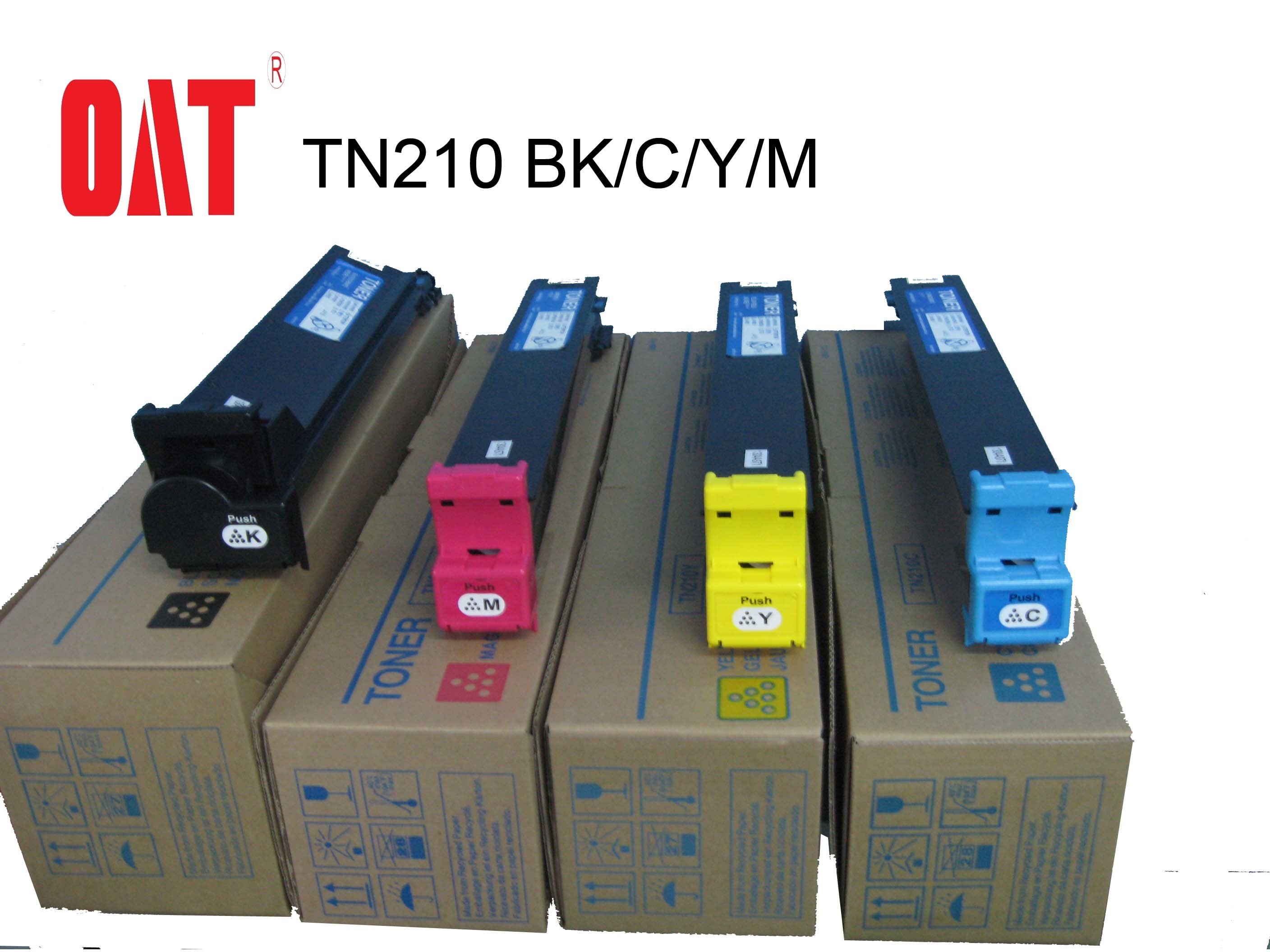 Copier Toner Tn210 Color Toner Cartridge for Konica Minolta C250/250p/252