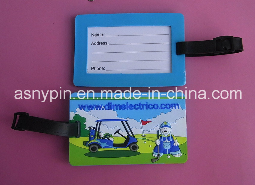 Custom Golf Club Bag Luggage Tag