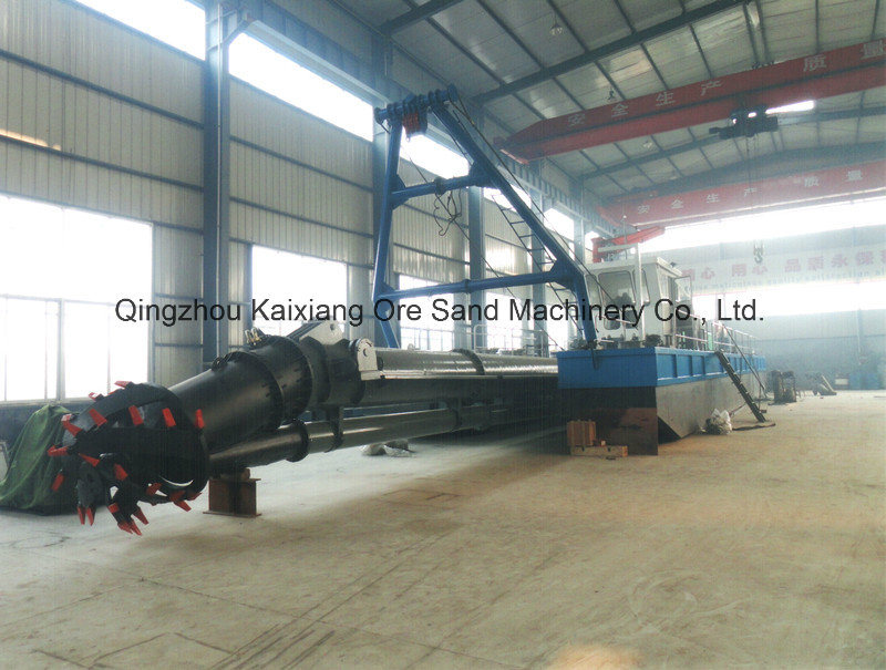 Advanced Cutter Suction Dredger