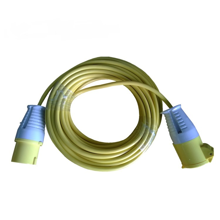 Industrial Power Cables : China industrial plug and socket power cord flexible