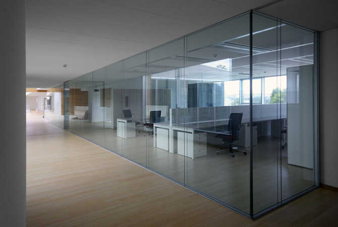 valentine one glass partition walls