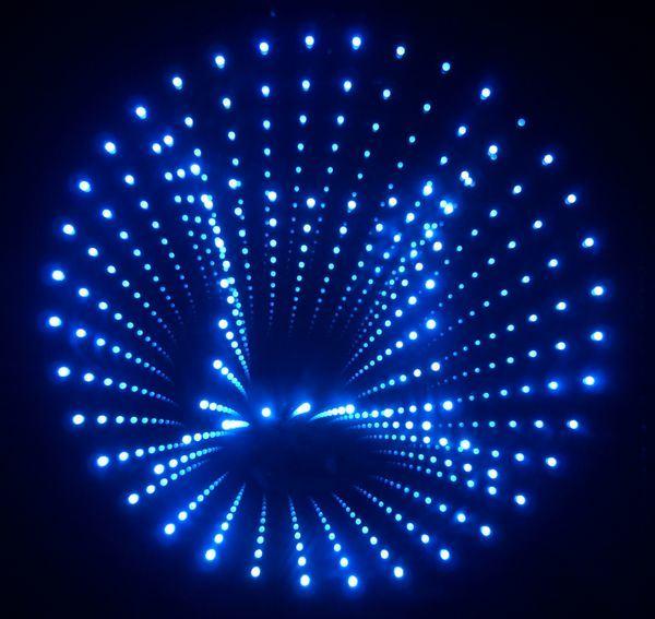 glass fiber optics lighting crafts