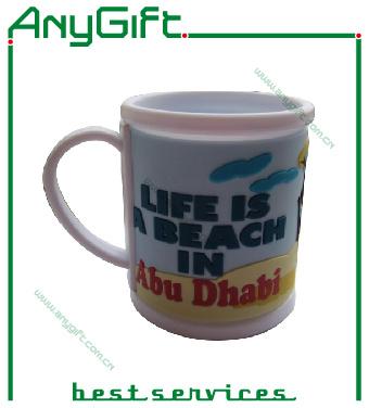Soft PVC Mug with Customized Logo