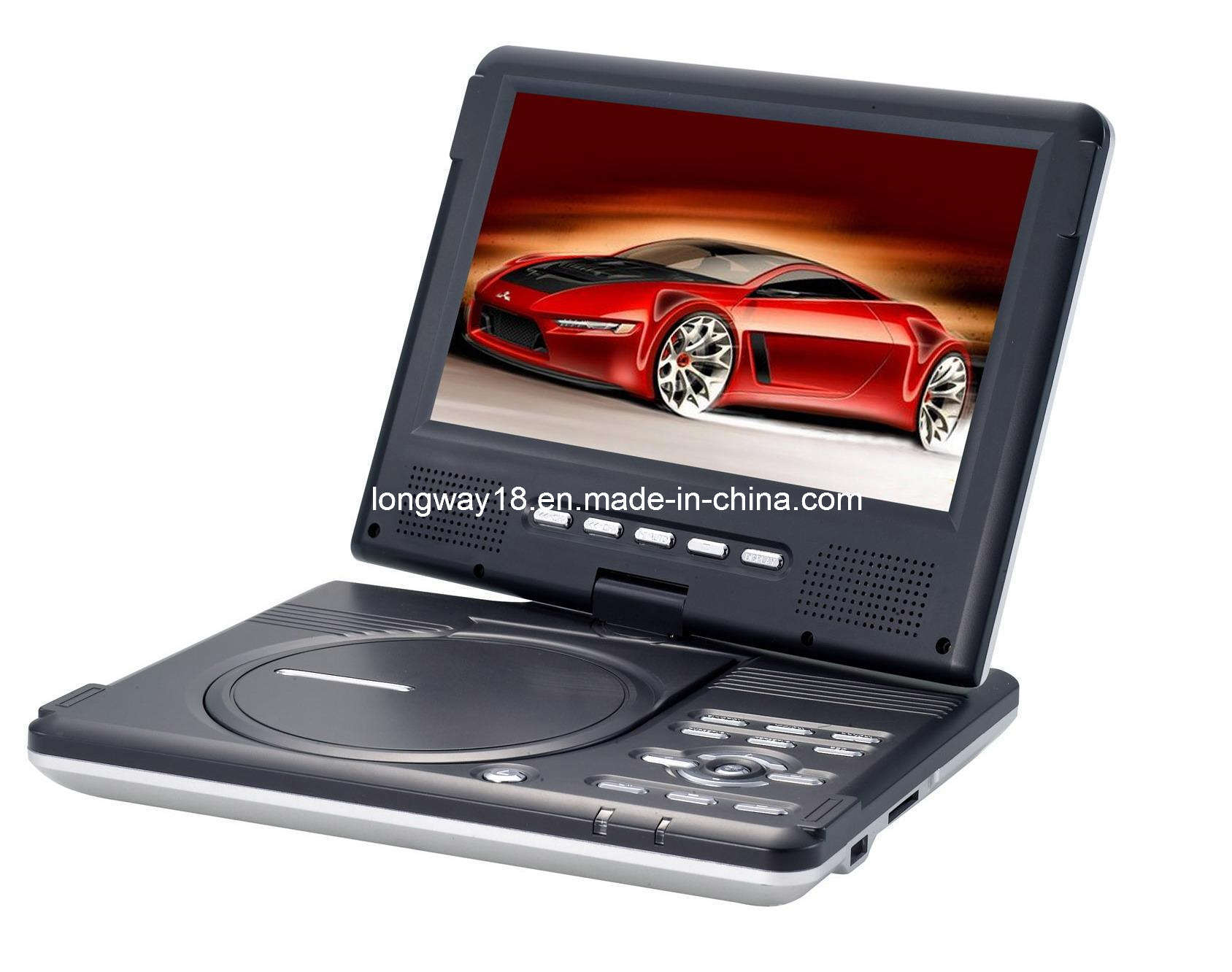 DVD Player TFT LCD With TV / USB / Game (CM-790) - China Portable Dvd ...