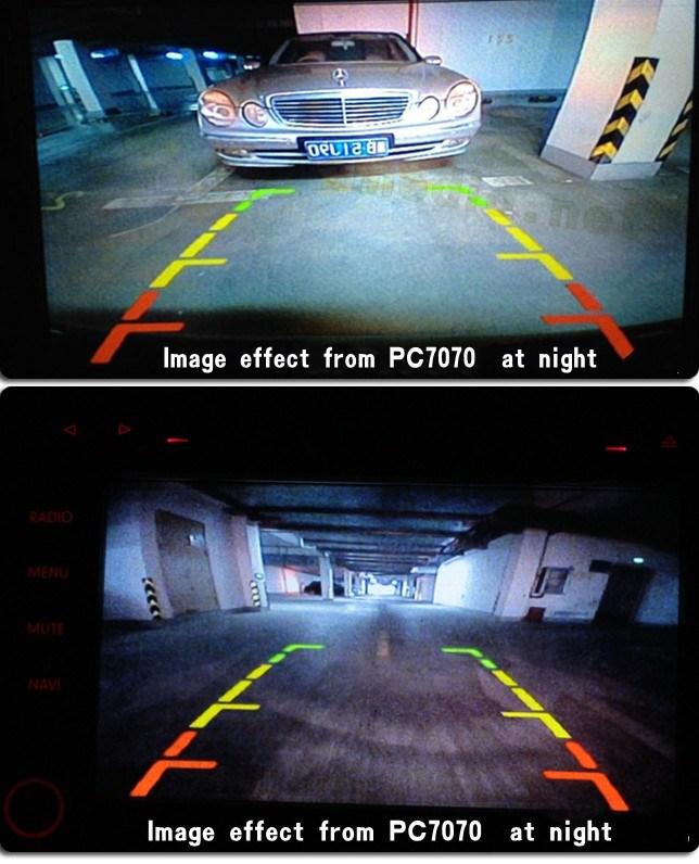 Night Vision European EU License Plate Frame Car Rear View Camera Cm-316b