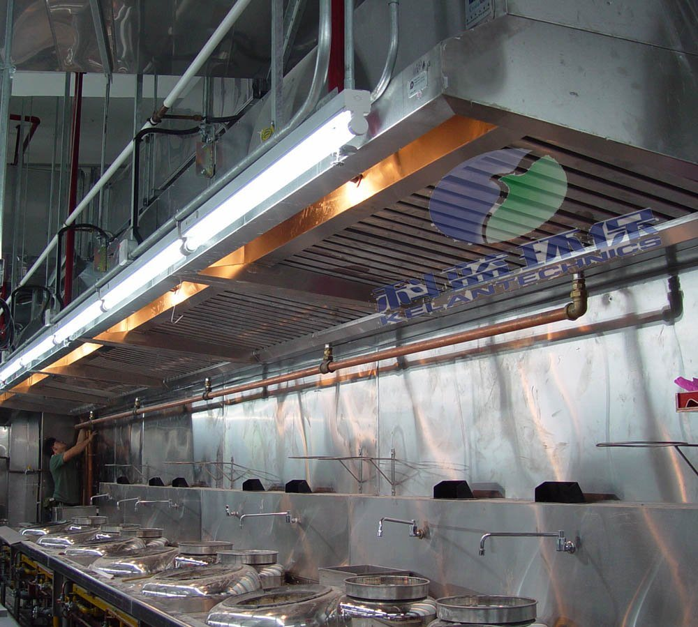 Industrial Ventilation Hoods : China stainless steel vent hood equipped with esp for