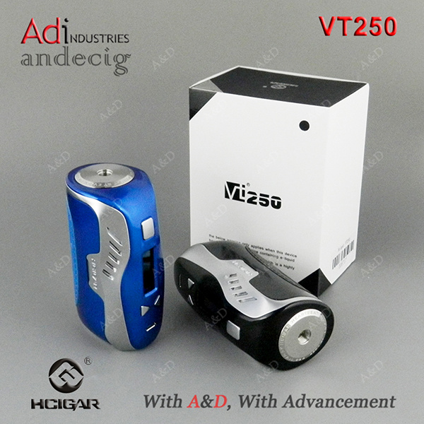 New Arrival Hcigar Vt250 DNA 250W Tc Box Mod