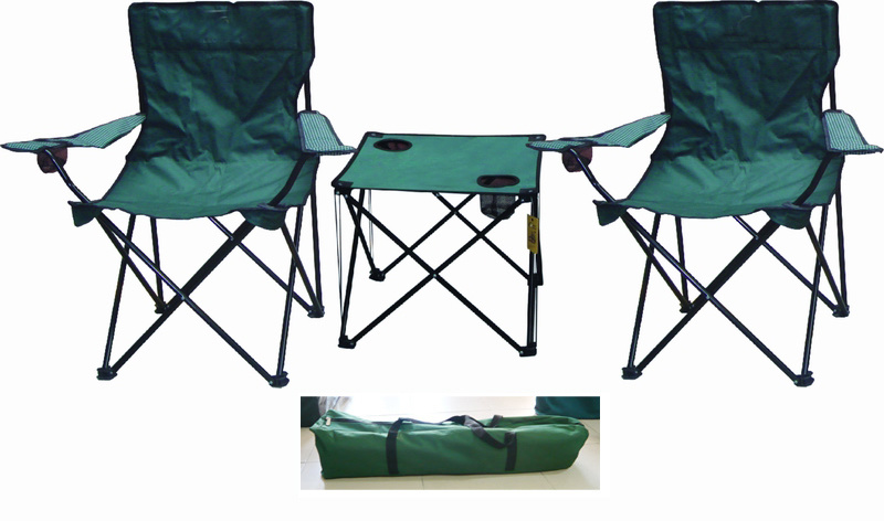 Folding Chair and Table Set, Beach Chair, Folding Chair