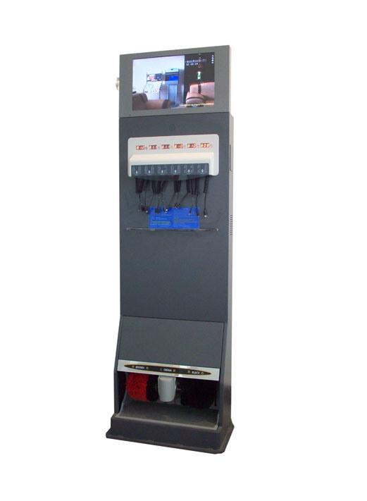 phone kiosk machine