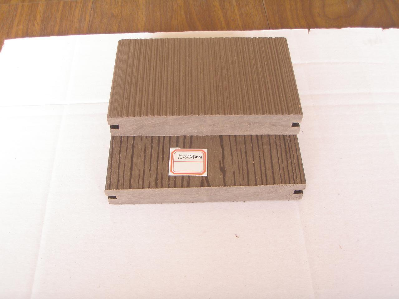 Outdoor Floor Wpc Board Composite Decking Floor Photos