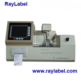 Automatic Pmcc Flash Point Tester for Pertroleum Equipments, Astmd93, Pertroleum Instruments, Flash Point Tester (RAY-261D)