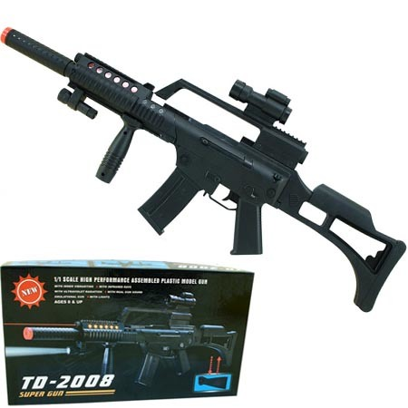 Plastic Toy Electrical Gun (KMH59499) - China Gun, Toy Gun