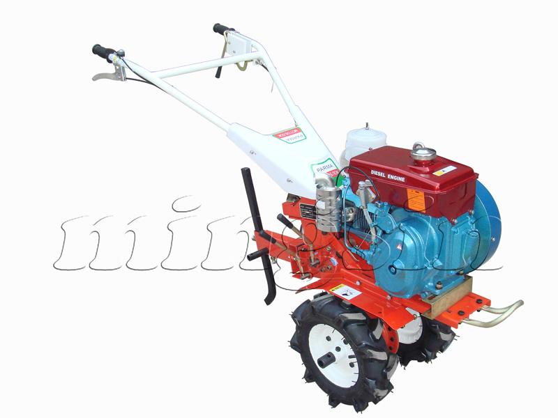4.5HP Diesel Tiller, Mini Rotary Cultivator Gt-4