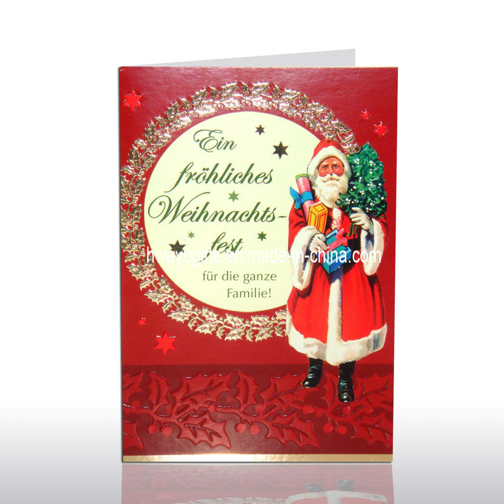 A power greeting card cards