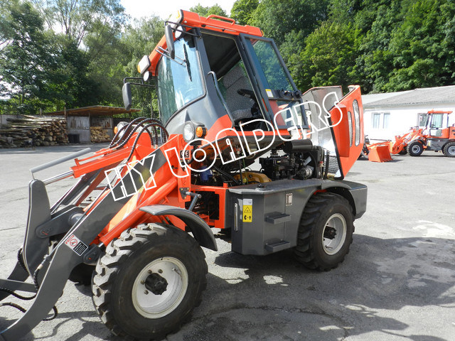 Multi-Function Wheel Loader with Flip-up Cabin (ZL10F)