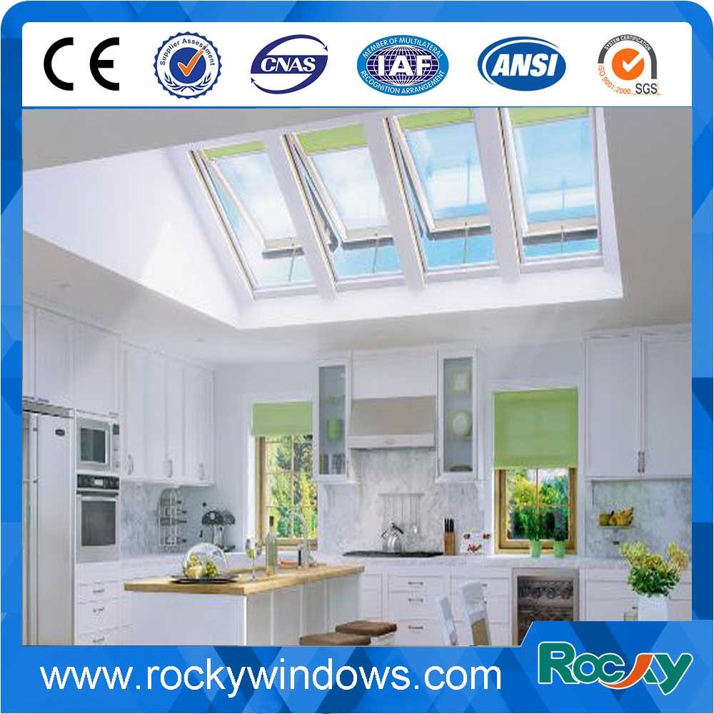 Low-E Soundproof Tubular Roof Skylight, Aluminum Sky Light Window