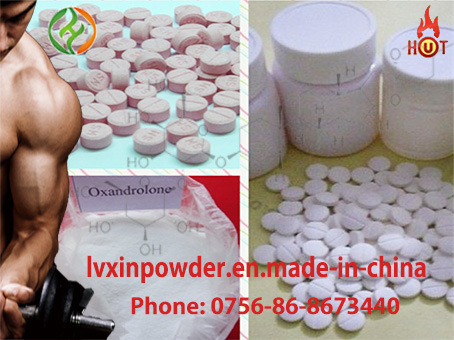 Oxymetholone Anadrol 99% Purity 434-07-1