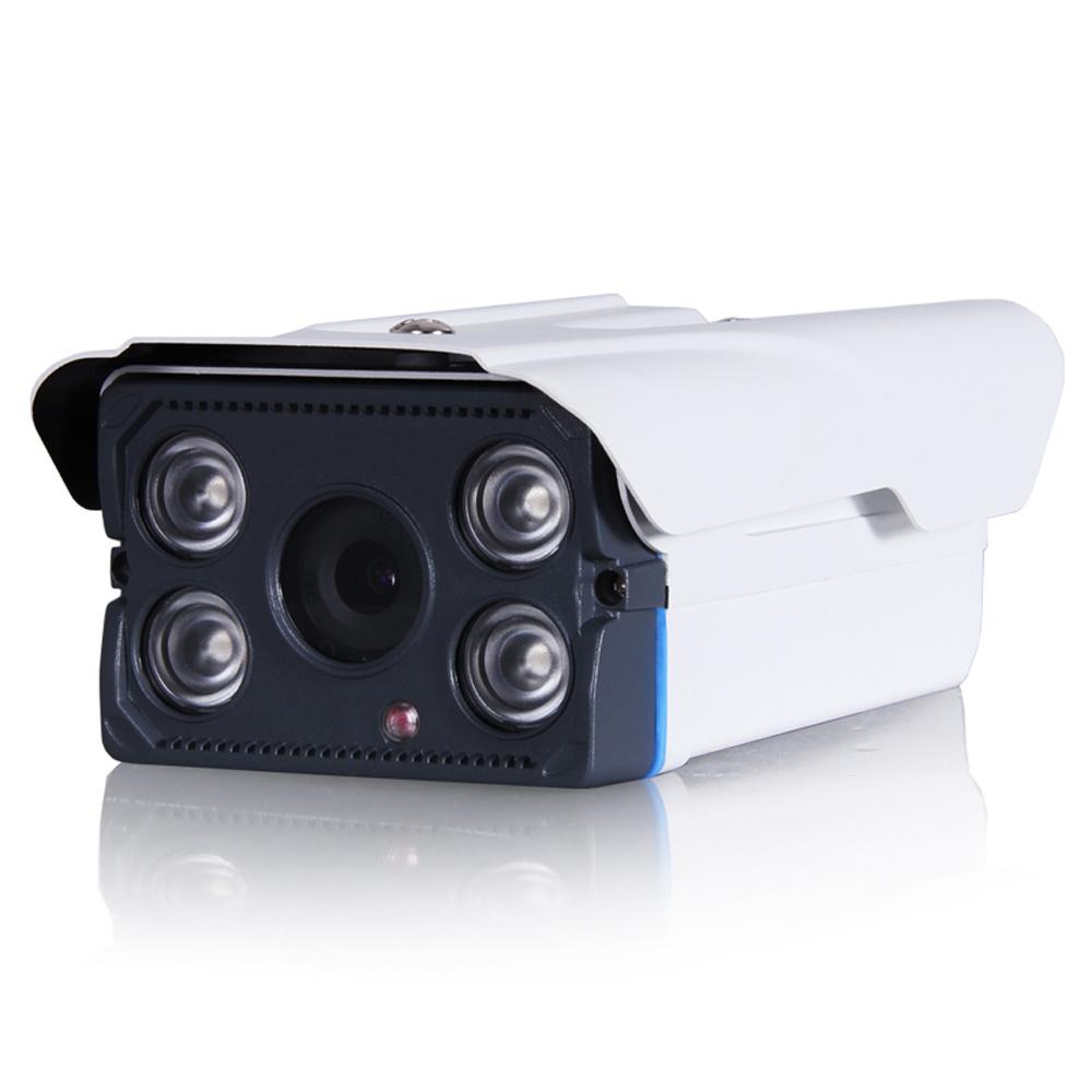 "1/3"" CMOS 800tvl 4 PCS H. LED IR Light Waterproof IR Bullet CCTV Camera"
