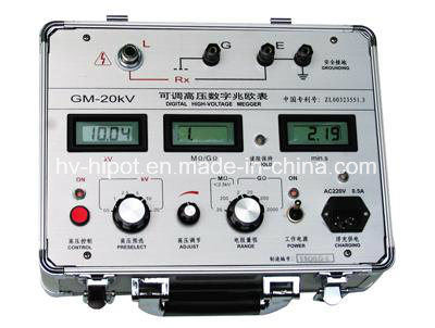 GM-10kV High Voltage Insulation Resistance Tester