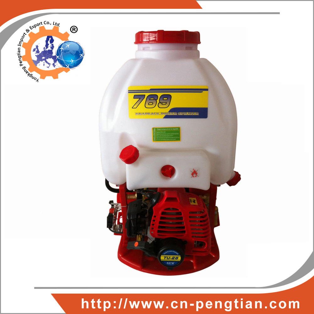 769 Knapsack Power Sprayer with 1e34f Engine Agricultural Machinery Manufacturing