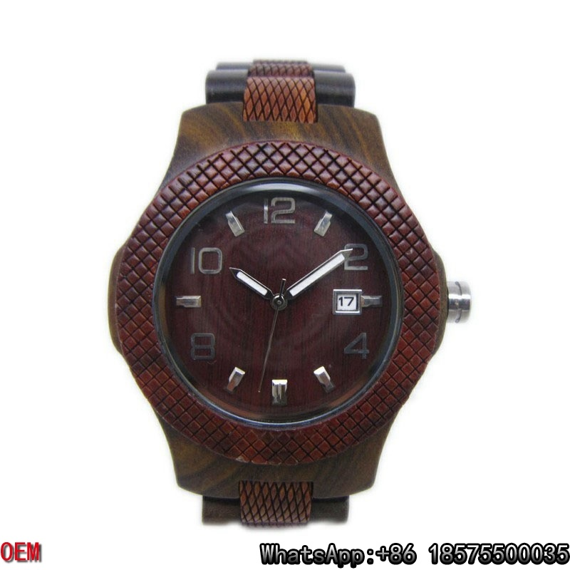 Top-Quality Wooden Watch Quartz Watch Hl28