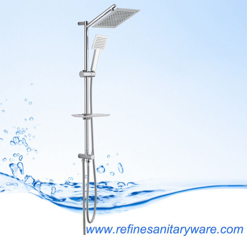 Modern Design Stainless Steel Shower Set From China (RS182N)