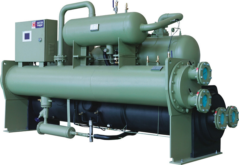 Water Cooled Flooded Type Screw Water Chiller with R134A Refrigerant