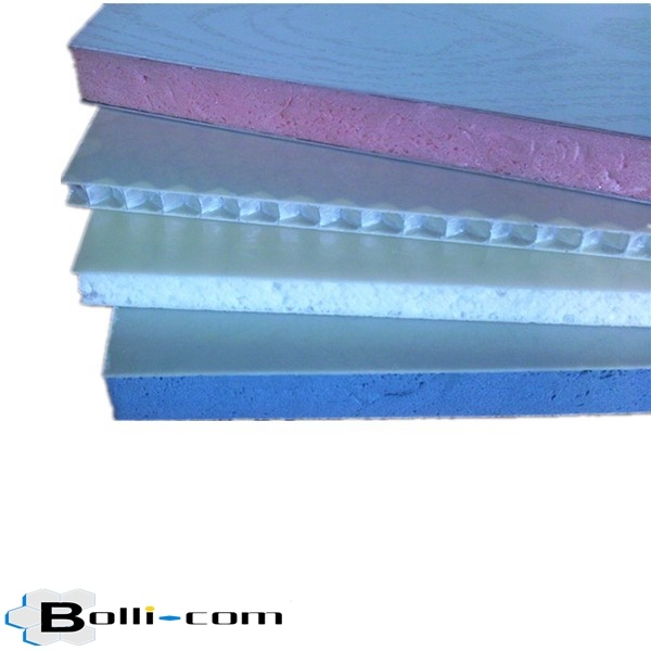 Rockwool EPS XPS PU Sandwich Panel for Cold Room PC PP FRP Aluminium Honeycomb Panel for Trailer Aluminium Composite Panel for Interior Exterior Wall Cladding
