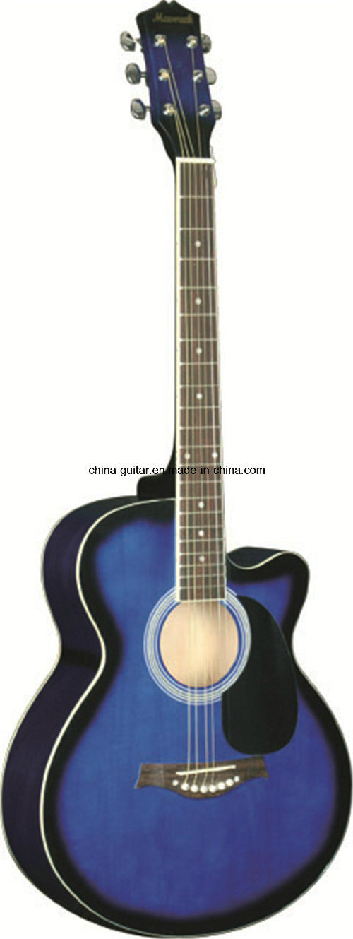 40′′ Cutaway Acoustic Guitar for Adult