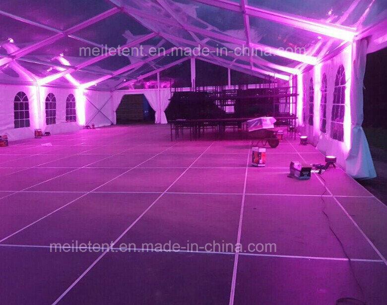 12X30m Luxury Aluminum Frame Big Transparent Events Tent