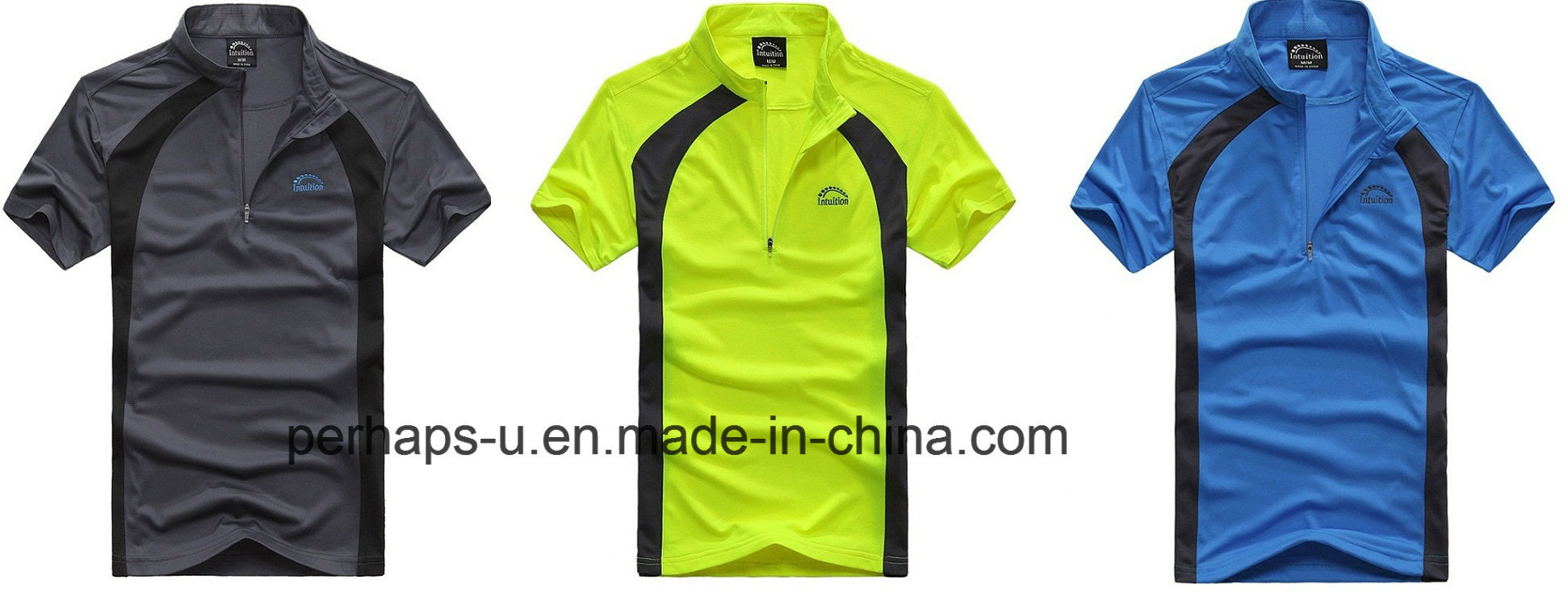 Quick-Drying Mesh Material Mens Cycling Sport Jersey