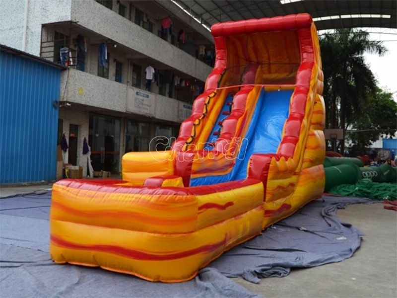 17′h Volcano Inflatable Water Slide (CHSL511L)