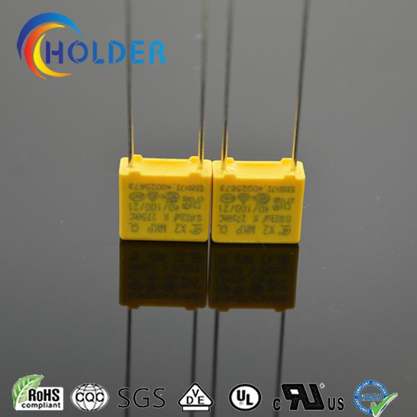 Miniature Box Safety Polypropylene Capacitor X2 0.022UF 275V P=7.5