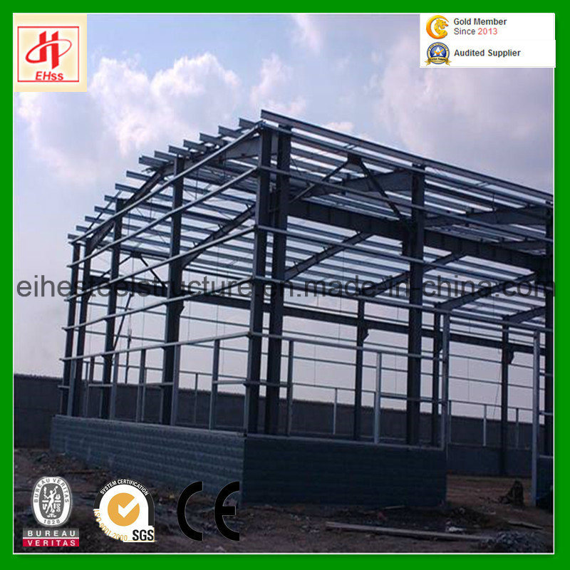 Low Cost Prefabricated Industrial Steel Structure Building Factory Warehouse