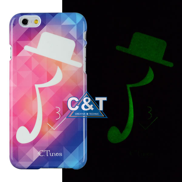Night Luminous Glow  Cell Phone Case for iPhone6 Plus
