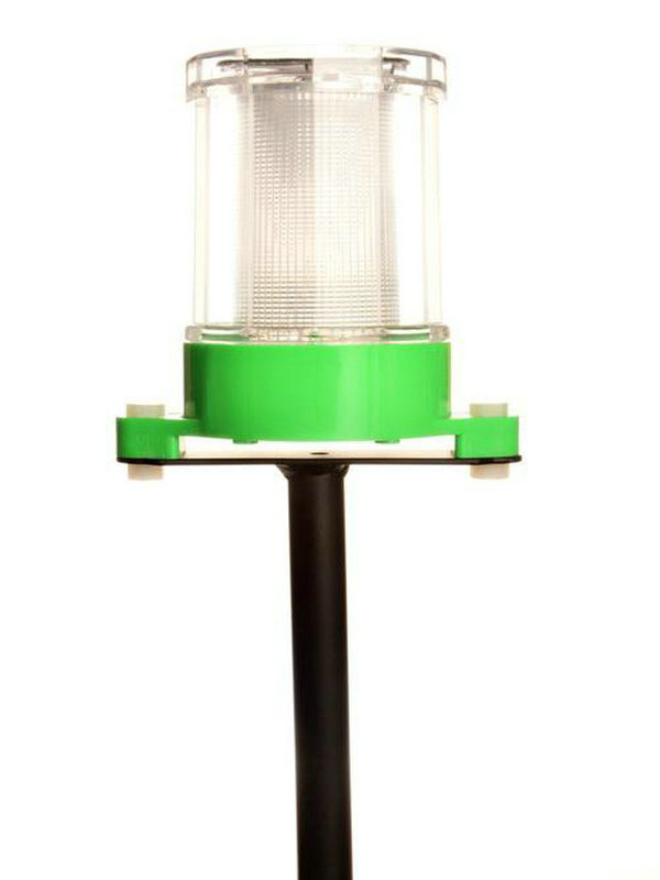 Colourful Solar Lawn Lamp Without Lamp Pole