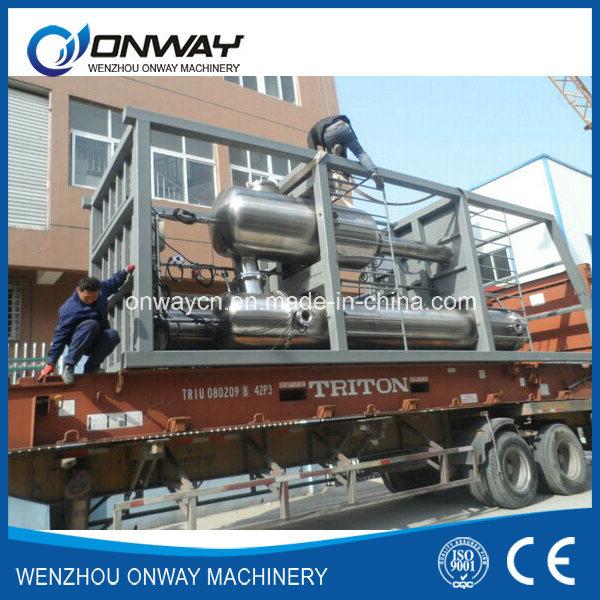 Shjo High Efficient Factory Price Vacuum Falling Film Evaporator
