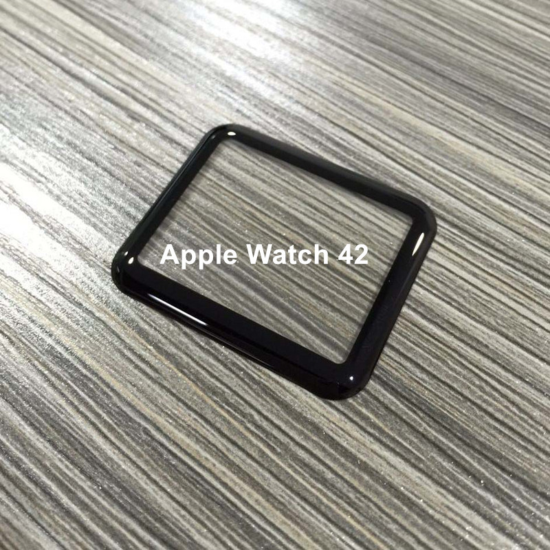 3D Curved Hot Bending Full Cover Tempered Glass Screen Protector for Apple Watch 42mm
