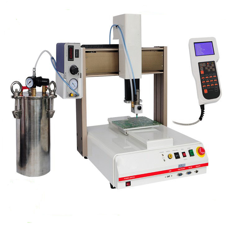 3 Axis Desktop Ab Glue Dispensing Machine for Circuit Board