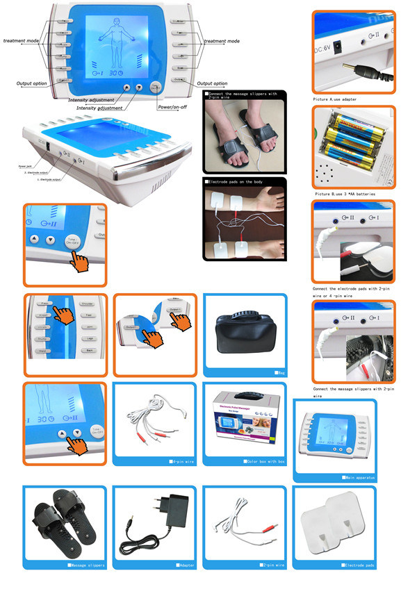 Rehabilicare Acupuncture EMS Tens Machine